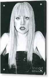 Lady Gaga Acrylic Print by Korawan Kulcharat