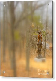 Lady In Bronze Acrylic Print