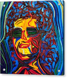 Lady In Sunglasses Acrylic Print by Ira Stark