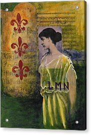 Lady In Waiting Acrylic Print by Terry Honstead