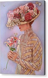 Lady Jessica Acrylic Print