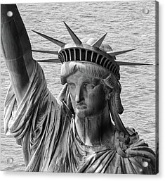 Acrylic Print featuring the photograph Lady Liberty 1 by Rand