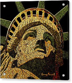 Lady Liberty Acrylic Print by Doug Powell