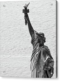Acrylic Print featuring the photograph Lady Liberty by Rand