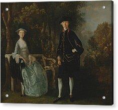 Lady Lloyd And Her Son Acrylic Print