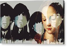 Lady Madonna Children At My Feet  Acrylic Print