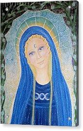 Lady Of Avalon Acrylic Print by Lila Violet