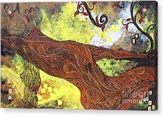Lady Of Elation Acrylic Print