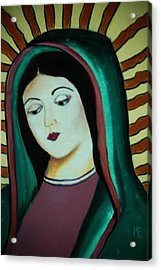 Lady Of Guadalupe Acrylic Print