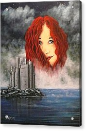 Lady Of The Lake Acrylic Print by Bob Patterson