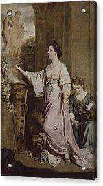Lady Sarah Bunbury Sacrificing To The Graces Acrylic Print