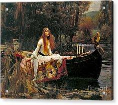 Lady Shalott 1888 Acrylic Print