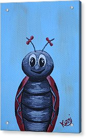 Ladybug's School Picture Acrylic Print by Kerri Ertman