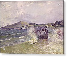 Ladys Cove Wales 1897 Acrylic Print by Alfred Sisley