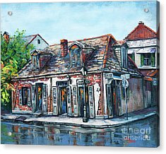 Lafitte's Blacksmith Shop Acrylic Print by Dianne Parks
