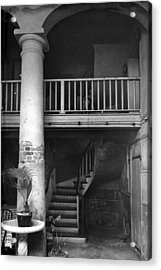 Lafittes Patio At The Absinthe House Acrylic Print