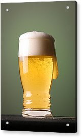 Lager Beer Acrylic Print