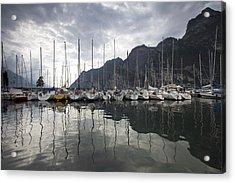 Lago Di Garda Acrylic Print by Andre Goncalves
