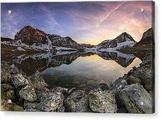 Lago Enol Acrylic Print