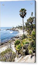 Laguna Beach California Heisler Park Acrylic Print by Paul Velgos