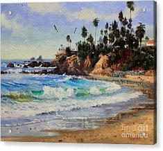Laguna Beach  Acrylic Print by Gary Kim