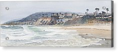 Salt Creek Beach Acrylic Print by Tom Dorsz