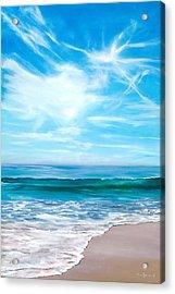 Laguna Christmas Acrylic Print by Lisa Reinhardt