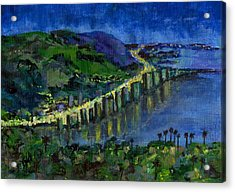Rio Acrylic Print by Randy Sprout