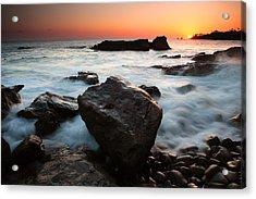 Laguna Sunset Acrylic Print by Eric Foltz