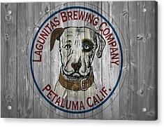 Lagunitas Brewing Company Barn Door Acrylic Print