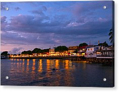 Lahaina Roadstead Acrylic Print by James Roemmling