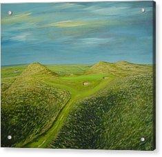 Lahinch Eighth Hole Acrylic Print by Eamon Doyle