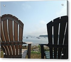 Acrylic Print featuring the digital art Laid Back by Olivier Calas