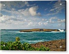 La'ie Point Sea Arch Acrylic Print