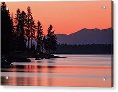 Lake Almanor Twilight Acrylic Print