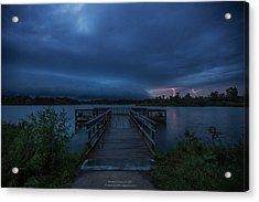 Lake Alvin Shelf  Acrylic Print