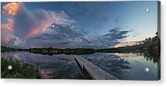 Lake Alvin Supercell Acrylic Print