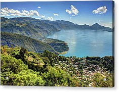 Lake Atitlan Acrylic Print