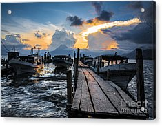 Acrylic Print featuring the photograph Lake Atitlan by Yuri Santin