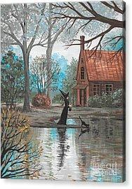 Lake Bewitched Acrylic Print