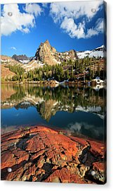Lake Blanche Spring Vertical Acrylic Print