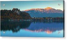 Lake Bled Panorama Acrylic Print