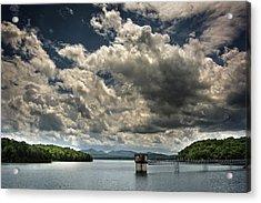 Lake Blue Ridge Acrylic Print