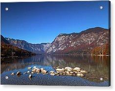 Lake Bohinj Acrylic Print