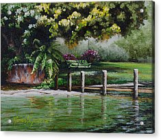 Lake Carroll Morning Acrylic Print