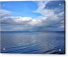 Acrylic Print featuring the photograph Lake Champlain From New York by Brendan Reals