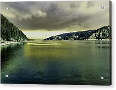 Acrylic Print featuring the photograph Lake Coeur D' Alene by Jeff Swan
