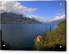 Lake Como Acrylic Print