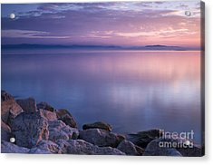 Lake Constance Acrylic Print by Silke Magino