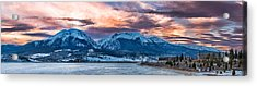 Acrylic Print featuring the photograph Lake Dillon by Sebastian Musial